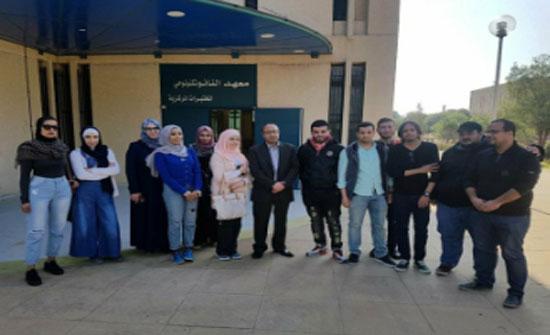 طلبة الفيزياء بجامعة الزرقاء يزورون معهد النانوتكنولوجي بجامعة العلوم والتكنولوجيا