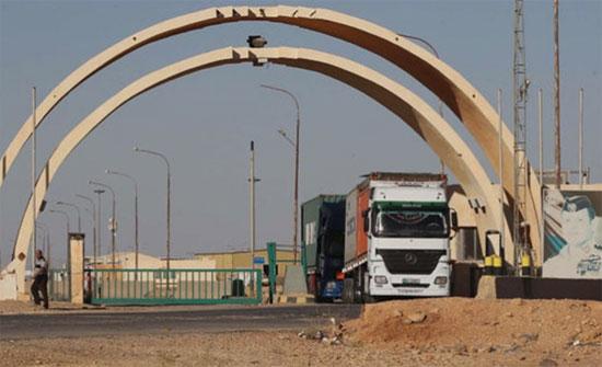 غنيمات توضح سبب تراجع الصادرات بين الأردن والعراق