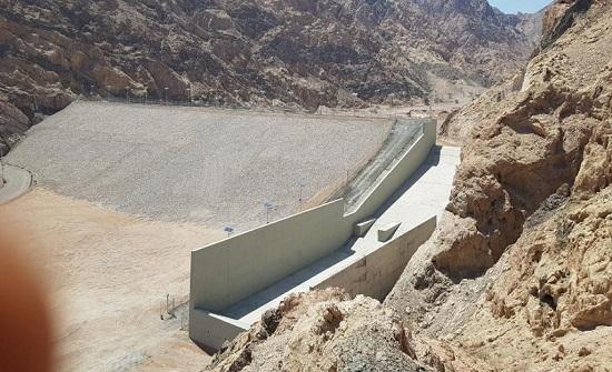 وزارة المياه والري تنجز سد وادي رحمة في وادي عربة بسعة نصف مليون م3