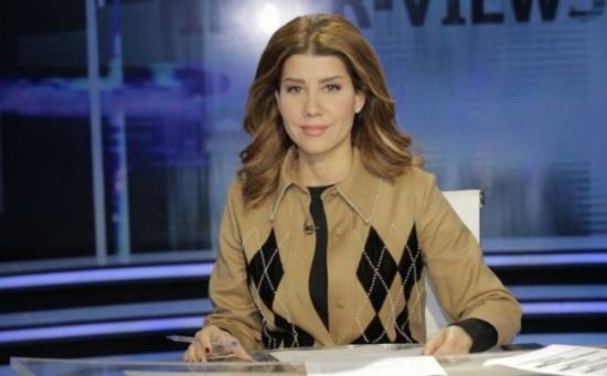 بالفيديو .. بولا يعقوبيان تستقيل برسالة على الهواء مباشرة وللحريري: ما تزعل مني
