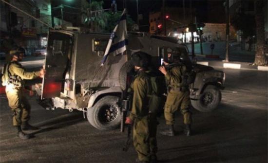 الاحتلال الإسرائيلي يقتحم بلدة سبسطية شمال نابلس