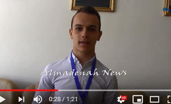 """بالفيديو :   لقاء مع الثاني في التوجيهي علمي """" شاهد """""""