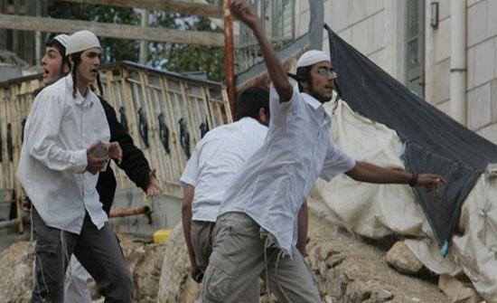 مستوطنون يعتدون على ممتلكات فلسطينيين في سلفيت