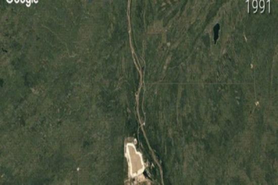 شاهد.. جوجل تجمع لك صوراً تُظهر مدى تغير الأرض على مدى الـ30 عاماً الماضية