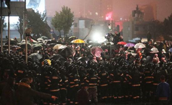 """""""مجلس العاصمة"""" يستنكر اطلاق شعارات مسيئة خلال احتجاجات الرابع"""