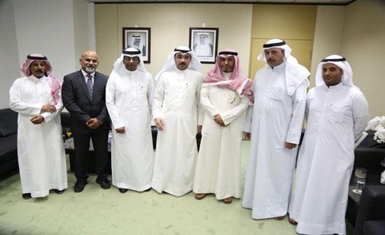 اجتماع رسمى بين الاتحاد العربى للمخلصين الجمركيين ووزراة التجارة والصناعة الكويتية