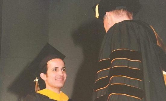 تهنئة لنجل رئيس جامعة الأميرة سمية الدكتور مشهور الرفاعي