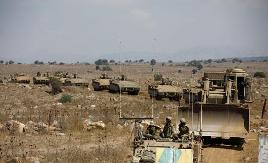 """إسرائيل تجري مناورات في الجولان وتحذر من قدرات قتالية """"لا تقدر"""" لحزب الله"""