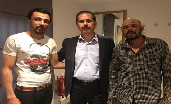 صور :سفيرنا في كازاخستان يلتقي المصابين الاردنيين