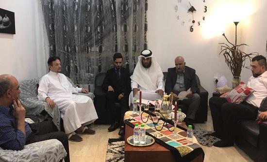 ألف مبروك للصديق وليد الملكاوي وعقيلته عقد قران المهندس عمرو