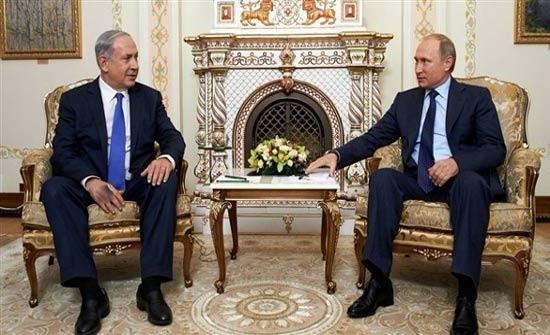 بوتين يجتمع مع نتانياهو في 29 يناير