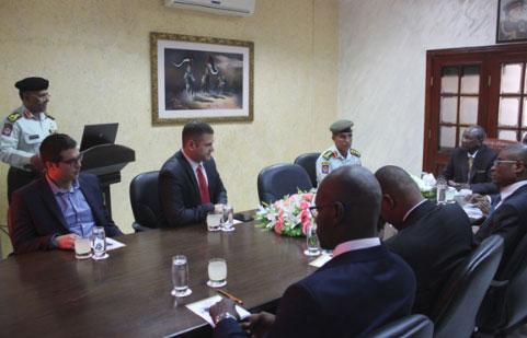 رئيس جمهورية غينيا يزور اكاديمية الشرطة الملكية