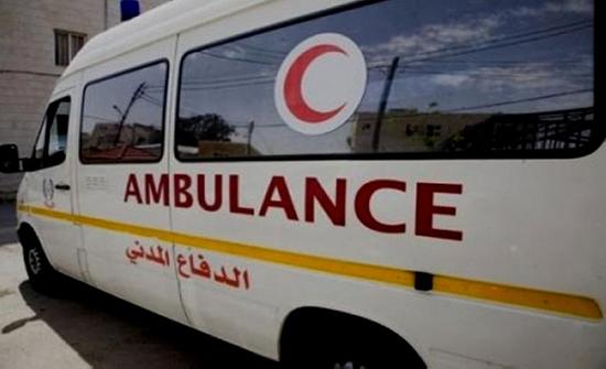8 اصابات بحادثين منفصلين في الكرك والبلقاء