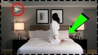 بالفيديو .. إمرأة وضعت كاميرا في منزلها لتراقب نفسها فكانت المفاجأة !