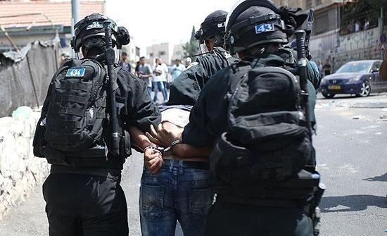 الاحتلال الإسرائيلي يعتقل 16فلسطينيا في الضفة الغربية