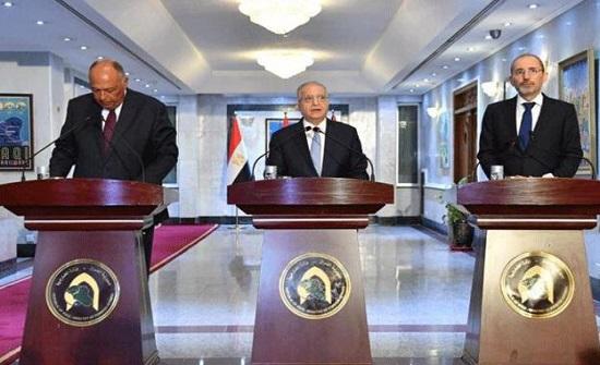 """الصفدي يشارك في """"الاجتماع الوزاري الثلاثي"""" في بغداد"""