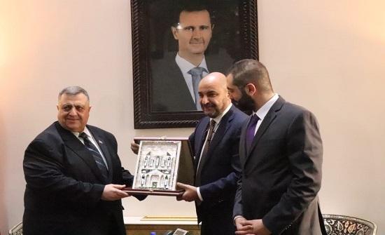 صباغ  يثمن دعوة الطراونة لحضور اجتماعات الاتحاد البرلماني العربي