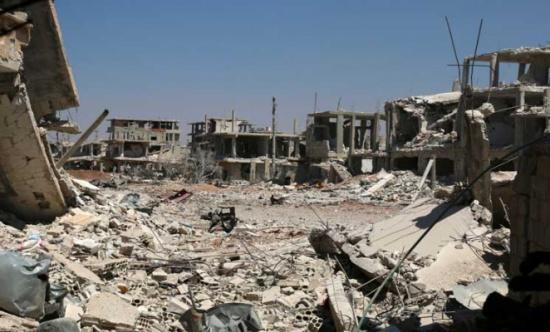 النظام السوري يعود لإستهداف درعا