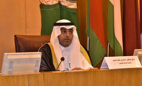 السلمي رئيساً للبرلمان العربي بالتزكية