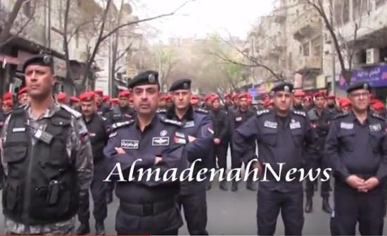 بالفيديو : شاهدوا نشامى الأمن بعد انفضاض مسيرة الجمعة