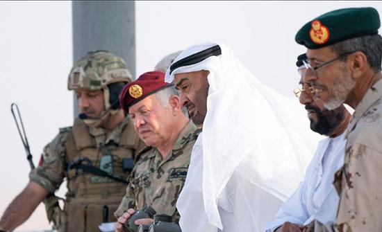 الملك والشيخ محمد بن زايد يغردان عن العلاقات بين الاردن والامارات