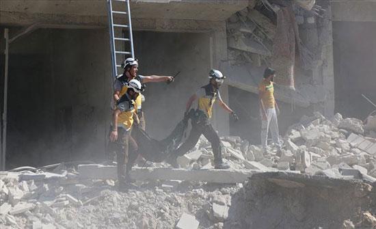 """""""الخوذ البيضاء"""" في سوريا فقدت 267 متطوعا وأنقذت 118 ألف مدني"""