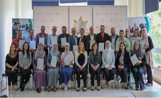 19 مشرفا تربويا يجتازون تدريبا في مهارات الإنجليزية في أكاديمية الملكة رانيا
