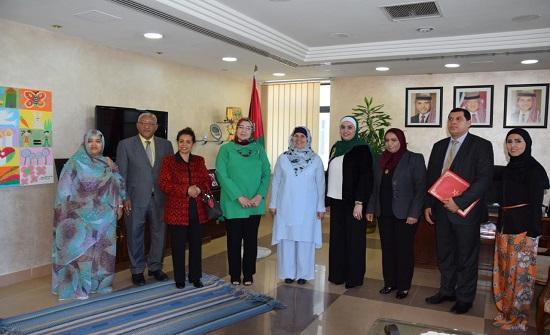 إسحاقات تلتقي لجنة الأخوة المغربية الأردنية