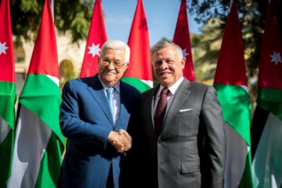 لقاء بين الرئيس الفلسطيني والملك عبدالله غدا في عمّان