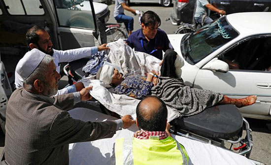 انفجار خارج مركز للشرطة في كابول.. وإصابة العشرات
