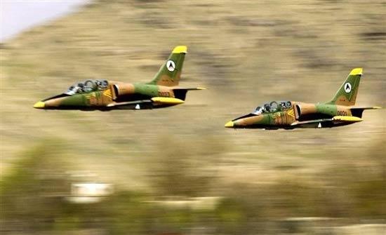 مقتل 18 مسلحاً بقصف جوي شمالي أفغانستان