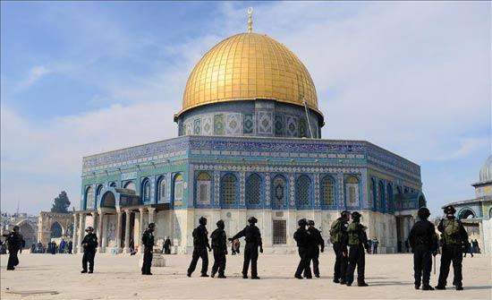 الاحتلال الإسرائيلي يمنع أعمال الترميم بالمسجد الأقصى