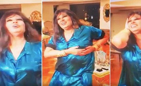 شاهد.. سخرية من طريقة رقص فيفي عبده على اغنية لـ سعد لمجرد!