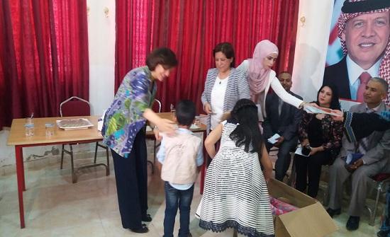 لطوف تتفقد جمعيات خيرية في شرق عمان والجيزة