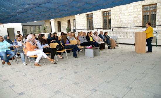 لقاء ترحيبي لطلبة ماجستير ودبلوم العمل الاجتماعي بالجامعة الألمانية الأردنية