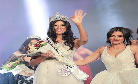 صور : آلاء عاطف تتوج بلقب ملكة جمال مصر 2019