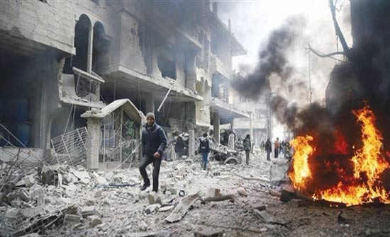 النظام السوري يواصل حرق الغوطة الشرقية: 44 قتيلاً في مجزرة جديدة