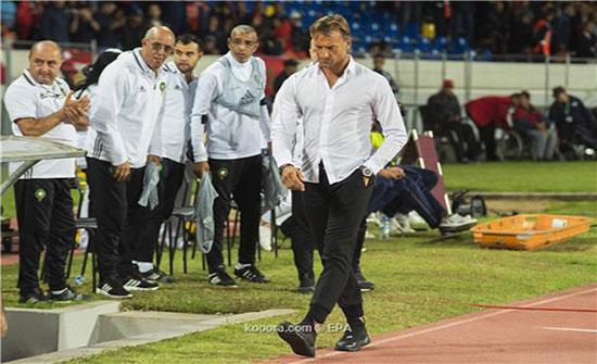 رينارد يعلن استقالته من تدريب المغرب