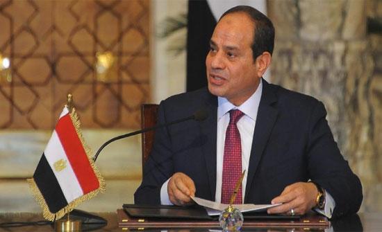 السيسي ورئيس وزراء الأردن يبحثان الأوضاع في سوريا والعراق