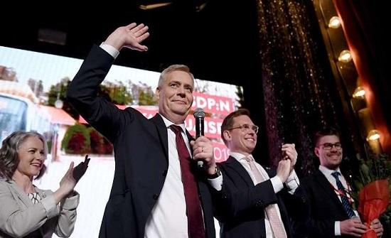 فوز الحزب الاشتراكي الديمقراطي الفنلندي المعارض في الانتخابات التشريعية