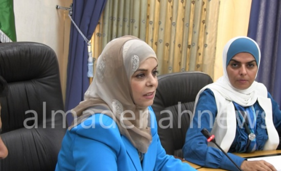 أبو دلبوح : هناك إرادة سياسية عليا لتمثيل المرأة في مختلف المجالات.