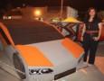شابة أردنية تصمم سيارة المستقبل