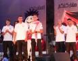 احتفال جماهيري بانجاز البطل الأولمبي أبو غوش