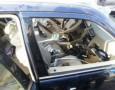 وفاة في اصطدام سيارة بتريلا على الطريق الصحراوي