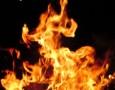 ثلاثينية تشعل النار في جسدها بالبادية الوسطى
