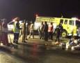 نقل 4 مصابين بحادثة باص المعتمرين إلى الأردن ... والجثامين قريباً