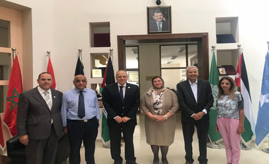 مباحثات بين اتحاد الجامعات العربية والجامعة الاسلامية اللبنانية في عمان
