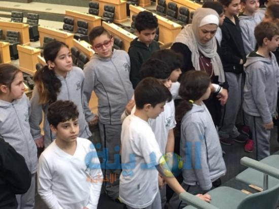 مدرسة المونتيسوري في زيارة لمجلس النواب..(صور)