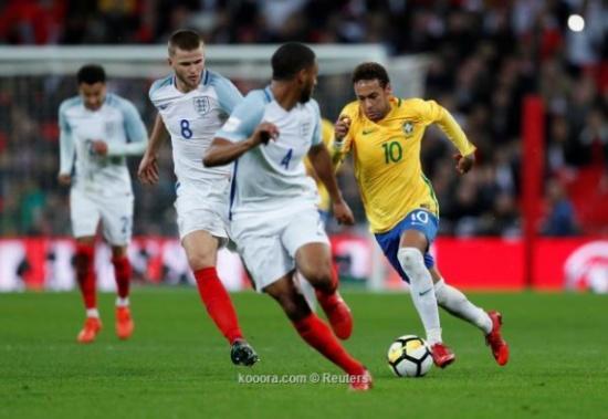 إنجلترا تفرض التعادل على البرازيل