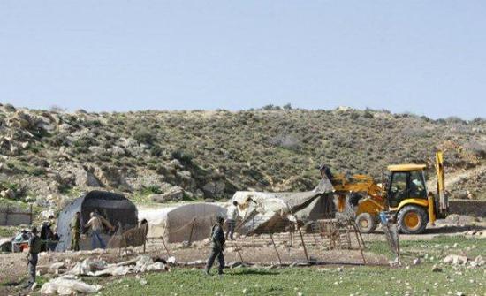 الاحتلال يدمر محمية طبيعية شرق يطا جنوب الخليل